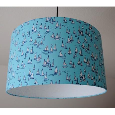 """Deckenlampenschirm """"Sailing"""" (blau)"""