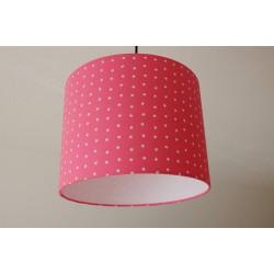"Lampenschirm "" Sterne"" (pink)"