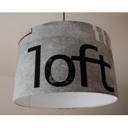 """Deckenlampenschirm """"Loft"""""""