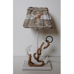 """Clayre & Eef Tischlampe """"Anker""""(Muschel)"""