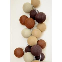 "20-er Cottonballs Lichterkette ""Forest"""