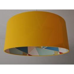 "Lampenschirm ""Art Deco-Sonnengelb"""