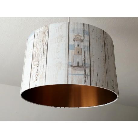 """Lampenschirm """"Leuchtturm-Kupfer"""""""