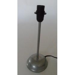 Tischlampenfuss Metall silberfarben