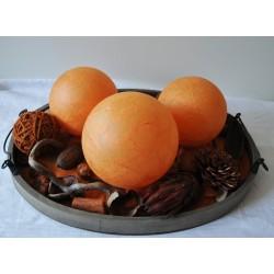 Leuchtkugeln Vintage Orange