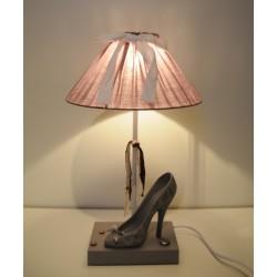 """Clayre & Eef Tischlampe """"Damenschuh"""""""
