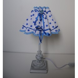"""Tischlampe """"Baby""""(blau)"""