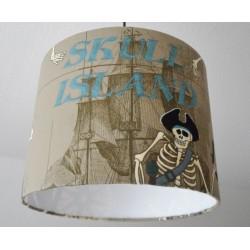 "Deckenlampenschirm ""Skull Island"""