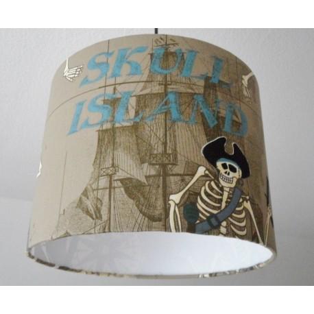 "Deckenlampenschirm ""Skull Island"