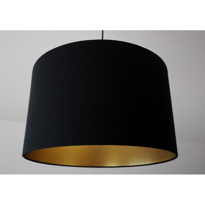 Deckenlampenschirm Schwarz Gold