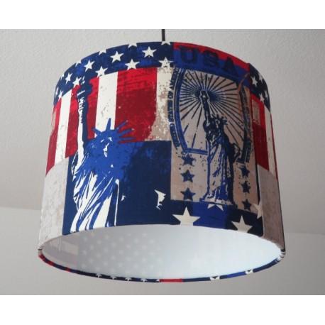 "Deckenlampenschirm ""USA"""