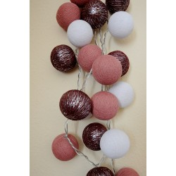 """20-er Cottonballs Lichterkette """"Elegance"""""""