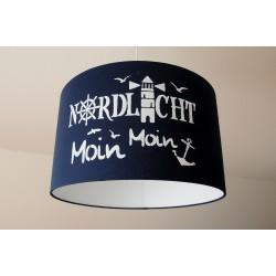 """Deckenlampenschirm """"Nordlicht"""" (dunkelblau)"""