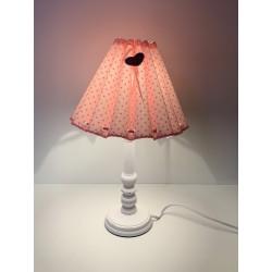 """Tischlampe """"Rosa gepunktet"""""""