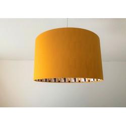 """Lampenschirm """"Modern Art-Senfgelb"""""""