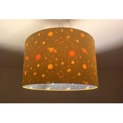 """Lampenschirm """"Universum-Senfgelb"""""""