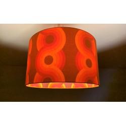 """Lampenschirm """"Retro-Orange"""""""