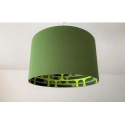 "Lampenschirm ""Retro-Olivgrün"""