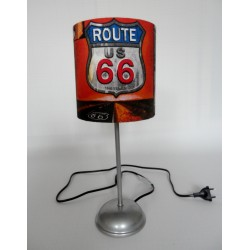 "Tischlampe ""Route 66"""