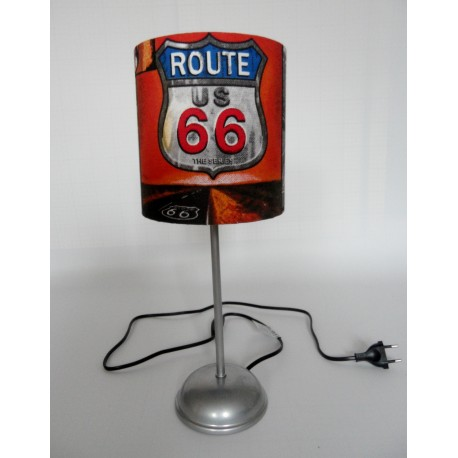 "Tischlampe ""Route 66"""