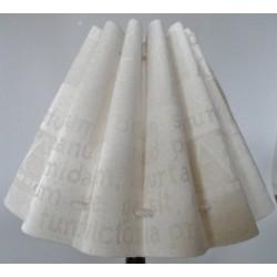 Lampenschirm in cream