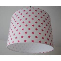 """Deckenlampenschirm """" Sterne"""" (pink)"""