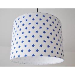 """Deckenlampenschirm """" Sterne"""" (blau)"""