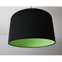 """Deckenlampenschirm """"Schwarz-Grün"""""""