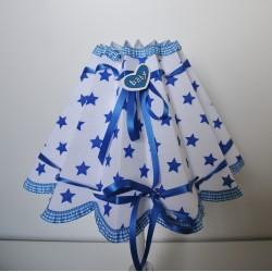 """Lampenschirm """"Baby""""(blau)"""