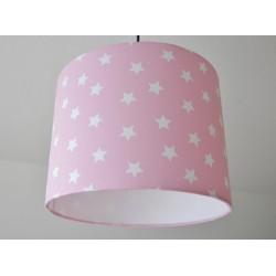"""Deckenlampenschirm """" Sterne"""" (rosa)"""